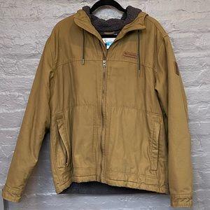 Men's Columbia Brown Jacket Sz L